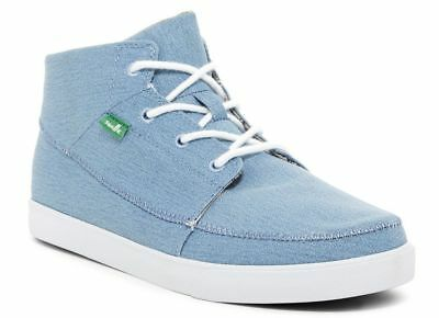 Sanuk Highrise Sidewalk Surfer High Top Shoes Men New With Box • 21.85£