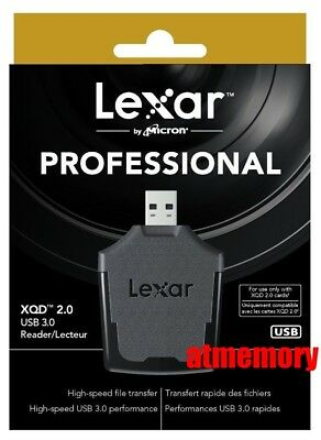 $ CDN95.09 • Buy Genuine Lexar Professional XQD Card Reader USB3.0
