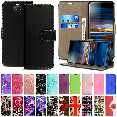 Case For Sony Xperia 10 II 1 II 5 L4 L3 L3 L1 XZ Leather Flip Wallet Phone Cover • 2.99£