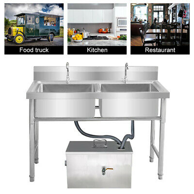 £115 • Buy Stainless Steel Grease Trap Interceptor For Restaurant Grease Recovery Device