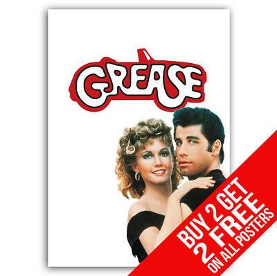£8.99 • Buy Grease Movie Bb1 Poster A4 / A3 Size - Buy 2 Get Any 2 Free