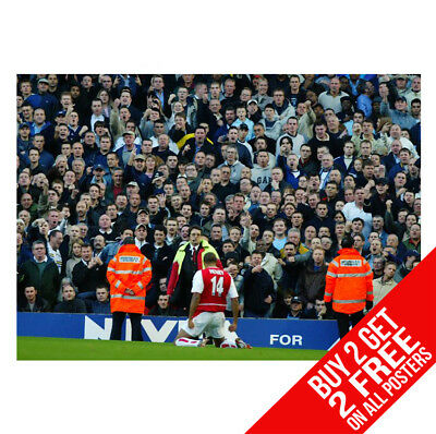 £8.99 • Buy Thierry Henry Arsenal B1 Poster A4 / A3 Size - Buy 2 Get Any 2 Free
