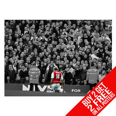 £8.99 • Buy Thierry Henry Arsenal B2 Poster A4 / A3 Size - Buy 2 Get Any 2 Free