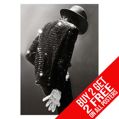 Michael Jackson Bb1 Poster A4 / A3 Size - Buy 2 Get Any 2 Free • 8.99£