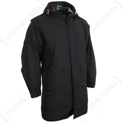 $136.61 • Buy Black US M51 Parka With Liner - Winter Cold Weather Coat Removable Fishtail New