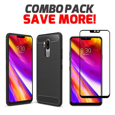 AU9.95 • Buy Shockproof Heavy Duty Anti Knock Bumper Case Cover For LG G7 LG V50 ThinQ 5G