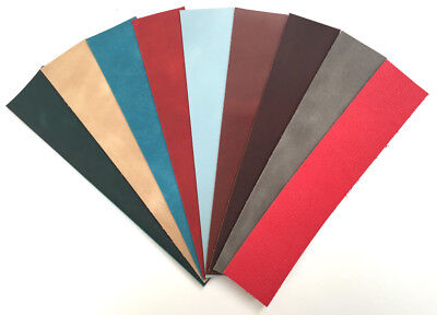 £9 • Buy Cowhide Leather 25cm X 5cm 1.6-2.0mm Thick Off Cuts Remnants Craft Packs Repair