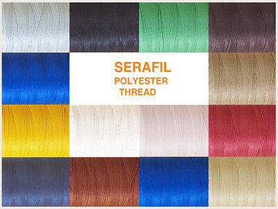 £4.25 • Buy 'Serafil 10' Polyester Thread, 10 M, Ideal For Leather Work, Various Colours