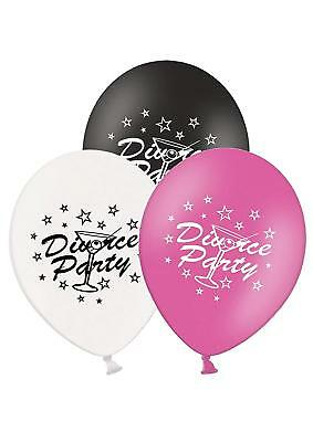Party Decor Divorce Party - 12  Printed Latex Balloons Pack Of 5 - Assorted - - • 5.93£