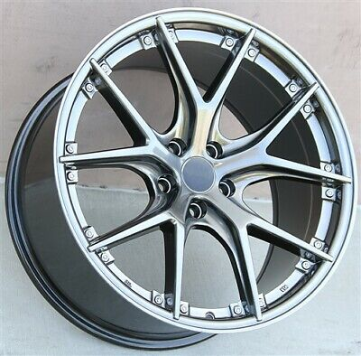 $849.50 • Buy (4) 19  19x8.5/9.5 STAGGERED WHEELS FIT BENZ E S SL CLS 320 350 420 500 550 600