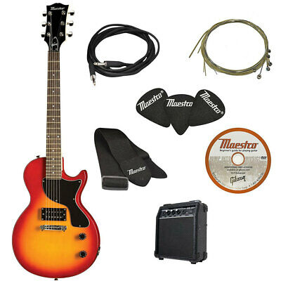 AU239 • Buy Maestro By Gibson Electric Guitar Cutaway Cherry Sunburst/Amp Amplifier Speaker