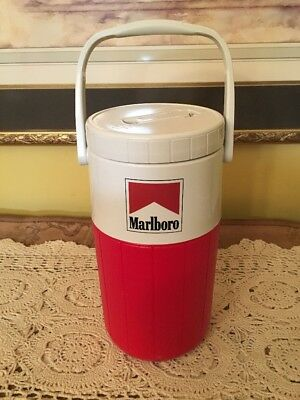 $14 • Buy Marlboro Coleman 5590 2 Qt 1/2 Gallon Water Jug Thermos Insulated Cooler Vintage