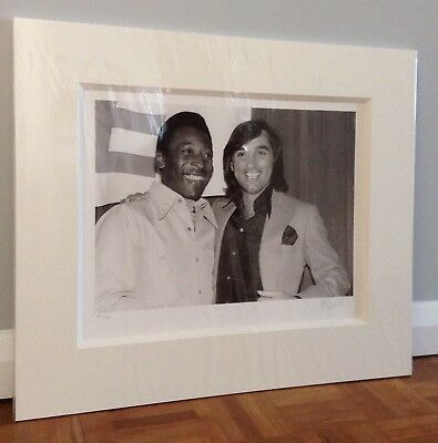 £300 • Buy Pele 'Pele And George Best' Signed Limited Edition Picture With C.O.A