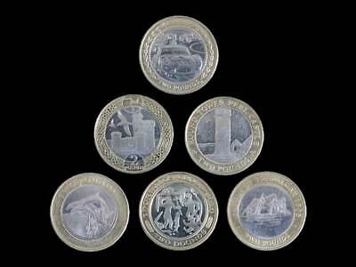 Guernsey, Gibraltar, Jersey, Isle Of Man £2 Coin Hunt Two Pound - UK Seller • 7.99£