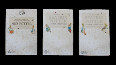 Brand New Royal Mint Albums For Beatrix Potter 50p Fifty Pence Coin Sets • 9.99£