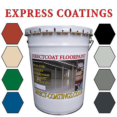 Professional Industrial Warehouse Garage Factory & Outdoor Floor Paint 20 Litres • 54.99£
