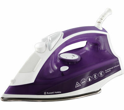 View Details RUSSELL HOBBS Supremesteam 23060 Steam Iron - Purple - Currys • 14.79£