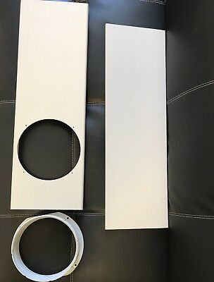 AU12.99 • Buy Portable Air Conditioner Parts Outlet Gob 15cm/6  Window Slide Kit Plate Set