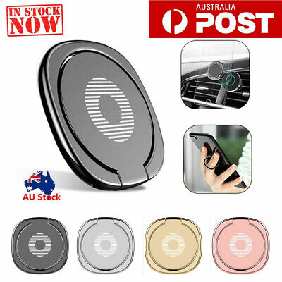 AU4.98 • Buy Pop Up Socket Phone Holder Stand Hand Grip Ring Mount Bracket For IPhone Samsung