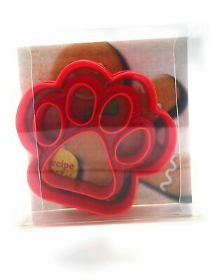 Dog Paw Cookie Cutter, Biscuit, Pastry, Fondant Cutter (2pcs) • 2.99£
