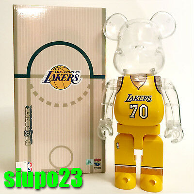 $349.99 • Buy Medicom 400% Bearbrick ~ Milk Magazine X NBA Be@rbrick Los Angeles LAKERS