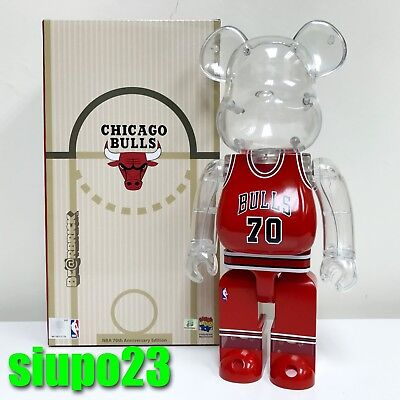 $239.99 • Buy Medicom 400% Bearbrick ~ Milk Magazine X NBA Be@rbrick Chicago Bulls