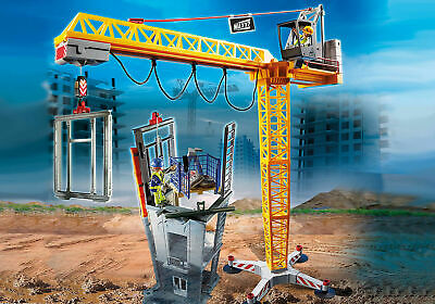 £108.38 • Buy Playmobil 70441 - RC Crane With Building Section - City Action Construction 2020