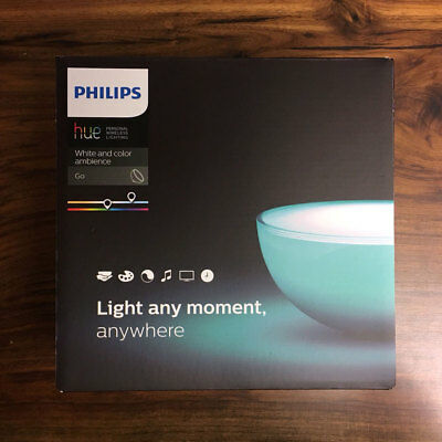 AU116.80 • Buy PHILIPS Hue White And Color Ambiance Go Portable Light Smart LED Light Exp Ship