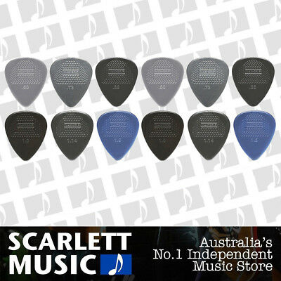 AU8.95 • Buy 12 X Jim Dunlop Max Grip MIXED Guitar Picks *NEW* Starter Max Grip Set