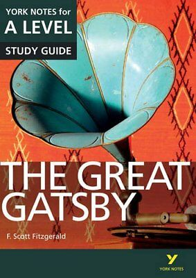 The Great Gatsby: York Notes For A-Level (York Notes Advanced) By Julian Cowley • 4.24£