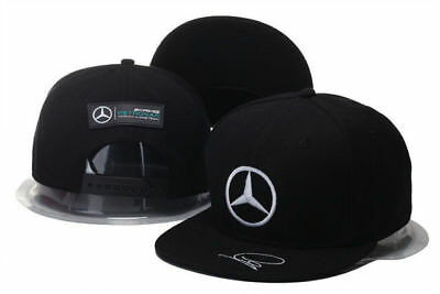 Embroidered MERCEDES BENZ² Logo AMG Cap Sport Snapback Hat Outdoor  Adjustable • 10.50  4043a491941a