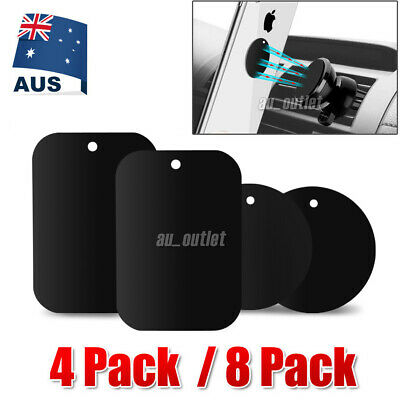 AU6.83 • Buy 8x Replacement Metal Plate Disc For Magnetic Car Dash Phone GPS PDA Mount Holder