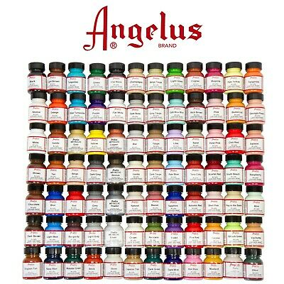 Acrylic Leather Paints 29.5ml , For Leather Shoes Bags Crafts FREE SHIPPING  • 9.97£