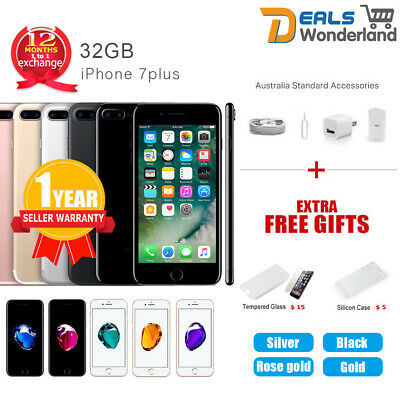 AU499.99 • Buy Apple IPhone 7 Plus 32GB 4G LTE Colours Factory Unlocked In Sealed Box