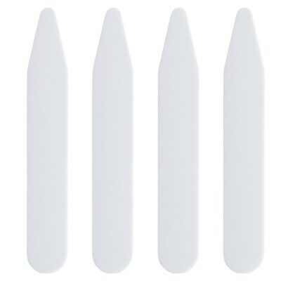 $6.95 • Buy Pick Your Size! 200 Plastic Collar Stays For Men Dress Shirts 2.2  2.5  3  Inch