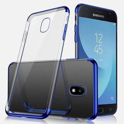 AU4.99 • Buy Shining Plating Stylish Gel Case Cover For Samsung Galaxy J2 Pro 2018 J5 Pro AU