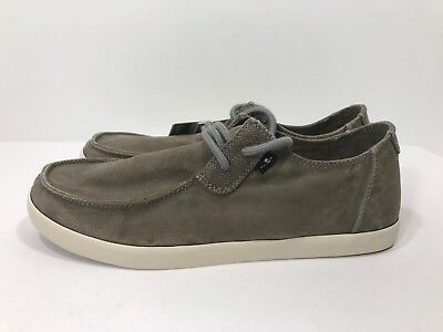 Sanuk Nu-Nami Men's Size 9 & 11 Canvas Sidewalk Surfer Chukka Shoes NEW! • 36.43£
