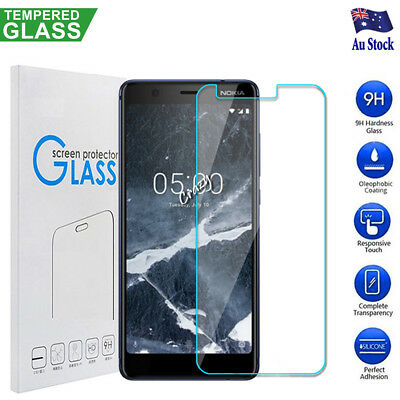AU3.95 • Buy Nokia 3.1 5.1 5.1 Plus 6.1 7.1 8.1 Tempered Glass Screen Protector Film Guard