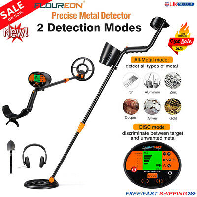 Deep Sensitive LCD Pinpoint Search Metal Detector Target Power Treasure Finder A • 52.99£