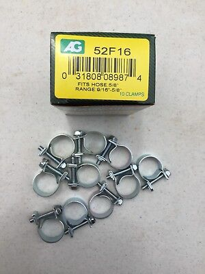 """$7.25 • Buy 3/8""""fuel Injection Hose Clamps-10/box"""