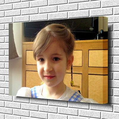 YOUR PERSONALISED PHOTO PICTURE PRINT On To A Box Canvas A1.30 X20 ~Deep Frame • 16.99£