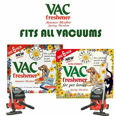 Vac Freshener Hoover Vacuum Cleaners Freshner Disc For Pet Lovers Home Office • 2.25£