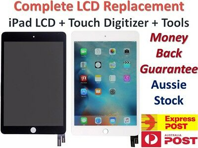 AU214.84 • Buy IPad 2 3 4 5 6 PRO Air 1 2 Mini 1 2 3 4  LCD +Touch Screen Digitizer Replacement