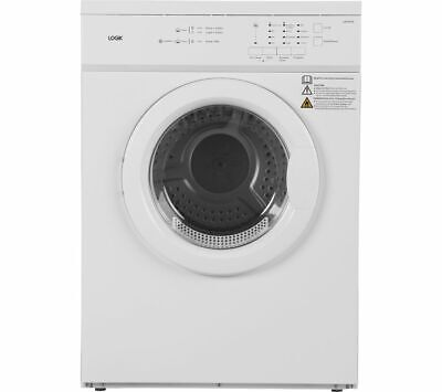 View Details LOGIK LVD7W18 7 Kg Vented Tumble Dryer - White - Currys • 149.00£