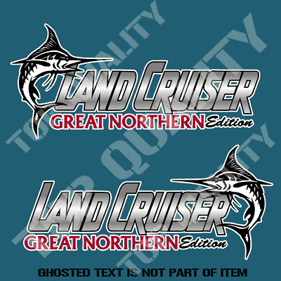 AU10 • Buy Landcruiser Great Northern Edition Decal Sticker Suv Ute 4x4 Off Road Stickers