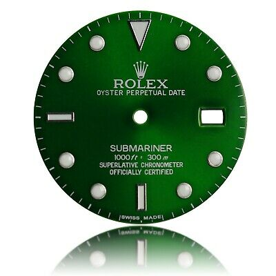 $ CDN263.15 • Buy For Rolex Submariner Stainless Steel Green Dial