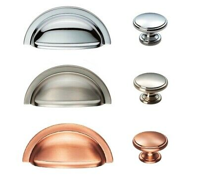 FTD OXFORD Cabinet Cupboard Kitchen Wardrobe Door Handles CUP & KNOBS To Match • 2.99£