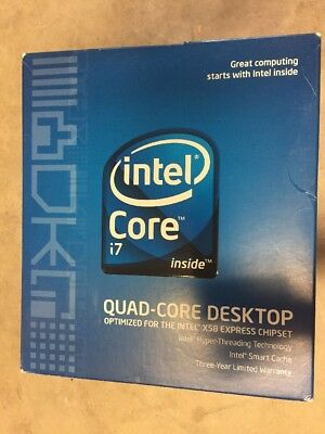 $ CDN264.23 • Buy Intel Core I7 Processor I7-920 2.66GHz 8 MB LGA1366 CPU BX80601920