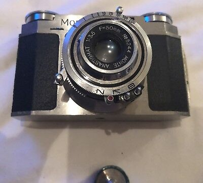 $ CDN63.34 • Buy Vintage Camera Monte-35, ANASTIGMAT 1:3.5, F=50mm W/leather Case