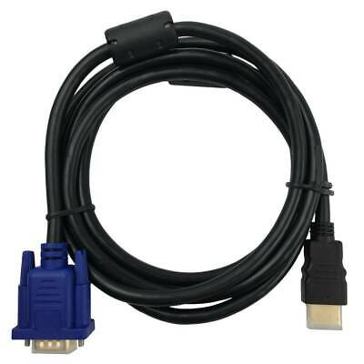 AU7.95 • Buy HDMI Male To VGA Male Cable Adapter Monitor Lead HD 15Pin 1080P Converter Laptop